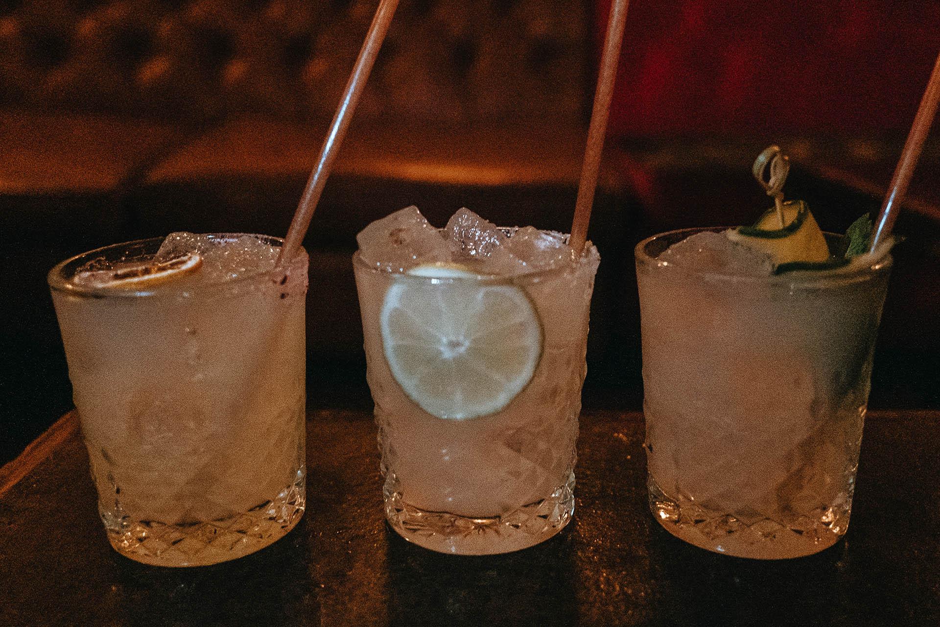 Trio of Margaritas from Bodega Miami