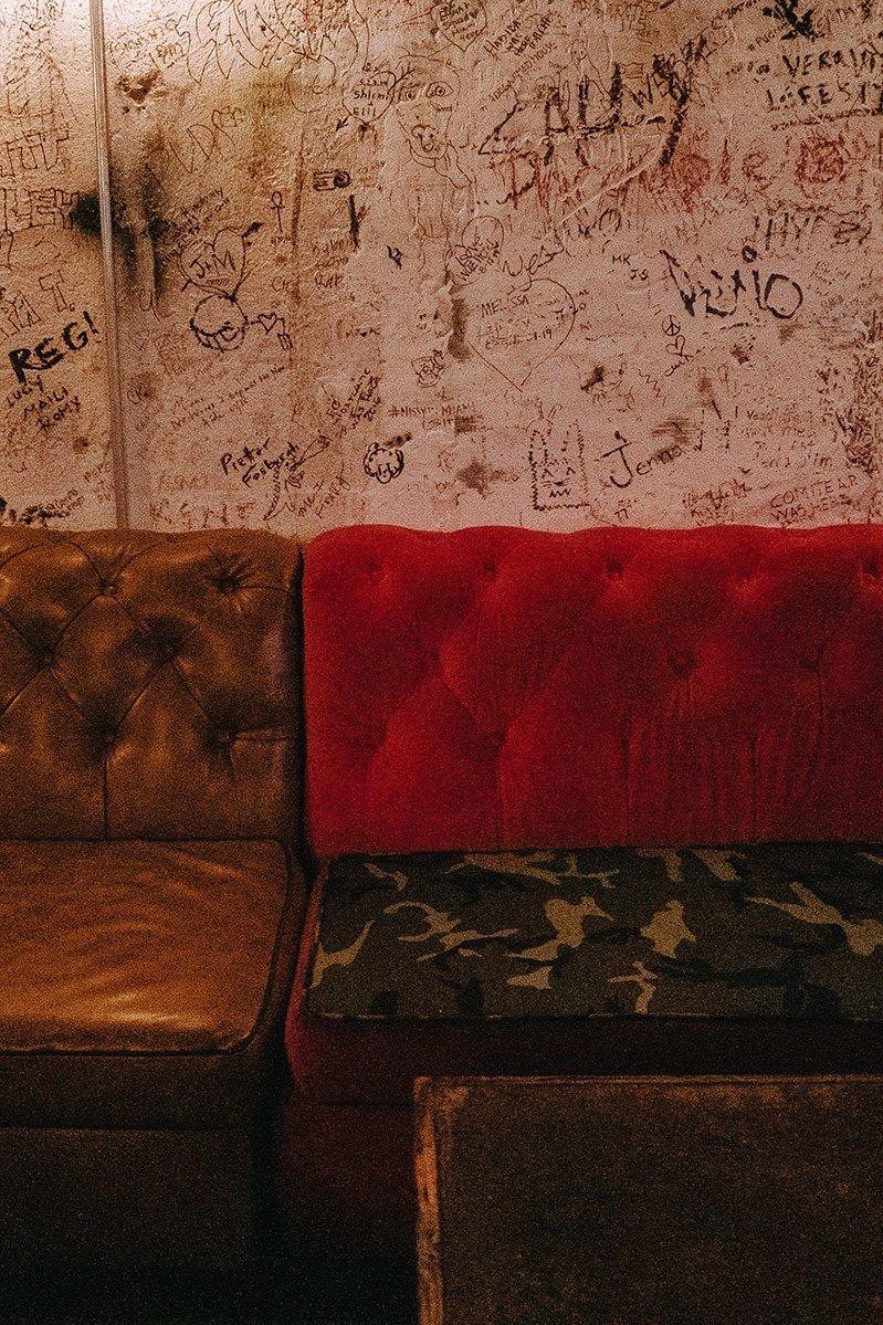 The CBGB atmosphere of Bodega Miami Hidden Bar