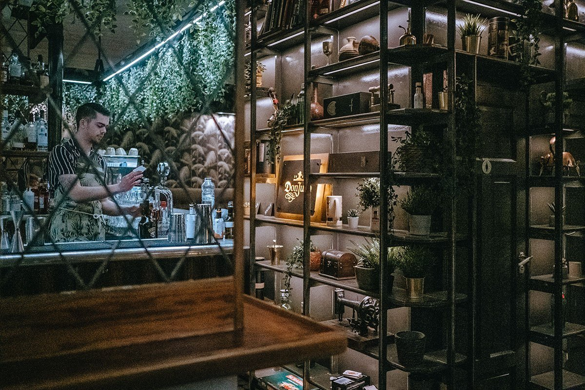 The atmosphere is classy and eclectic - Jungle Cocktail Bar
