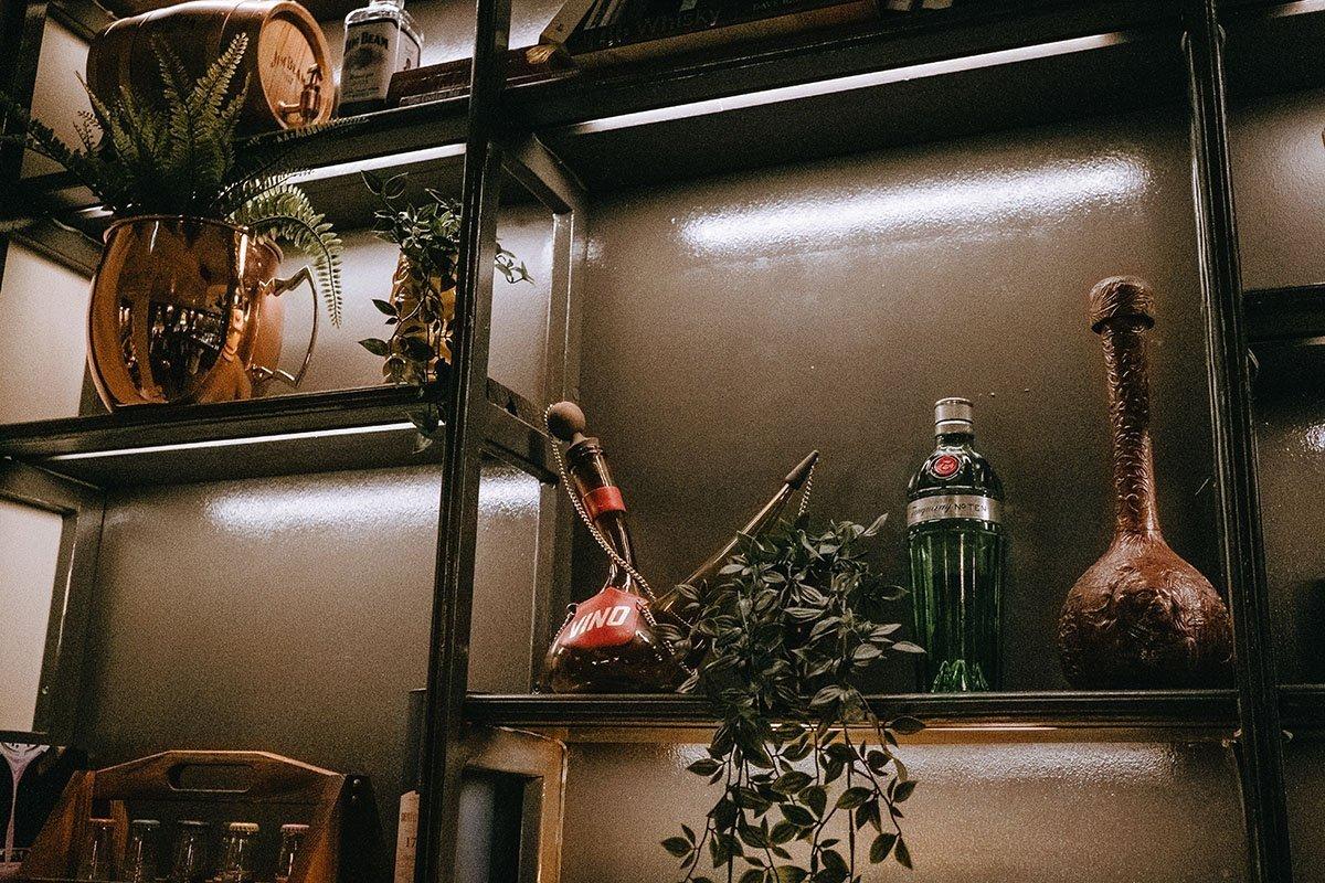 the Jungle cocktail bar classy Iceland hidden bar interior