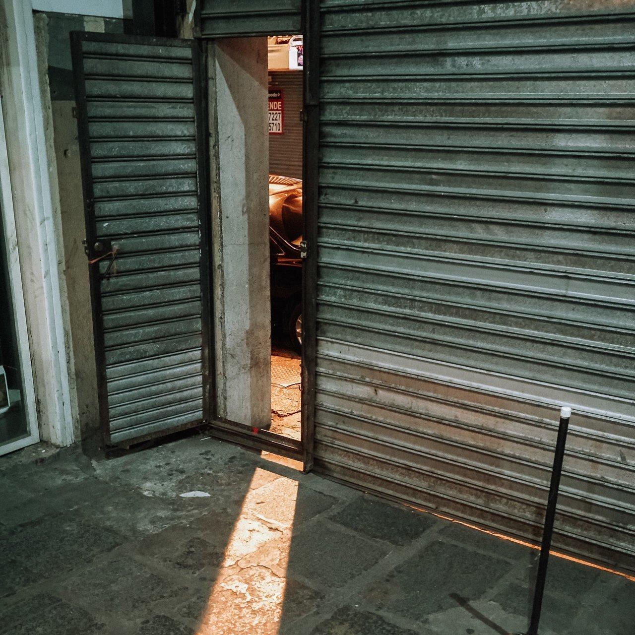The Street Entrance to Bebedero Hidden Bar Costa Rica