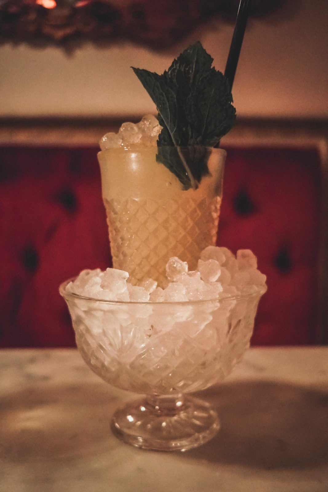 The Green Fairy - An Absinthe Drink